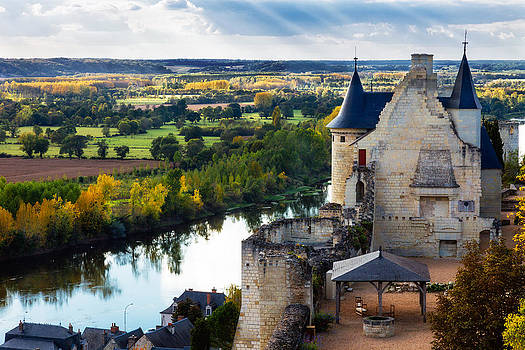 Royal Residence at Chinon Chateau by Kirk Strickland