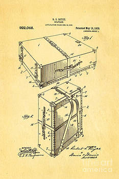 Ian Monk - Royce Knapsack Patent Art 1909