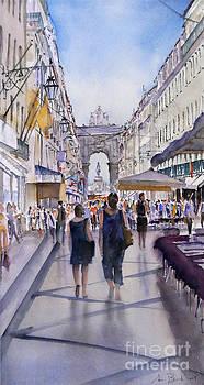 Rua Augusta by Antonio Bartolo