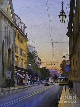Rua Da Alfandega by Antonio Bartolo