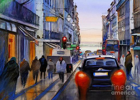 Rua Do Ouro by Antonio Bartolo