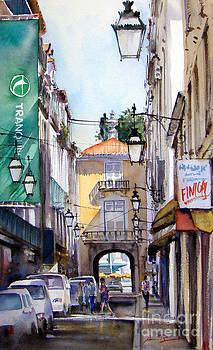 Rua dos Sapateiros - LIsboa by Antonio Bartolo
