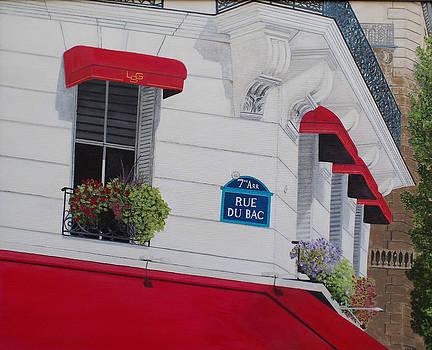 Rue de Bac by Steven Fleit