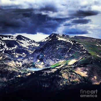 Rugged Mountain Lake by Kimberly Nickoson