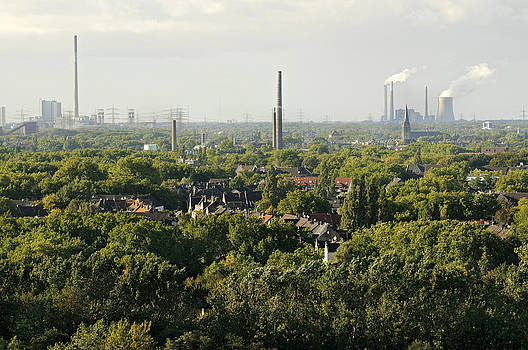 Ruhrgebiet Duisburg Germany by David Davies
