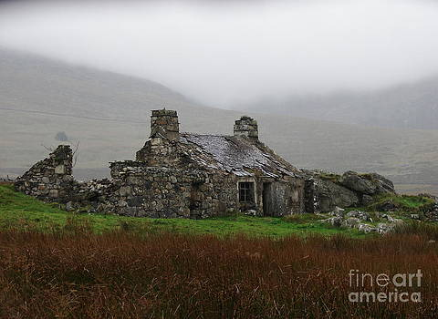 Ruined Cottage Snowdonia by Nicola Butt