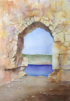 Ruins at Adana by Cynthia Roudebush