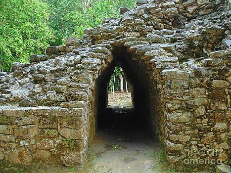 John Malone - Ruins at Coba Fourteen