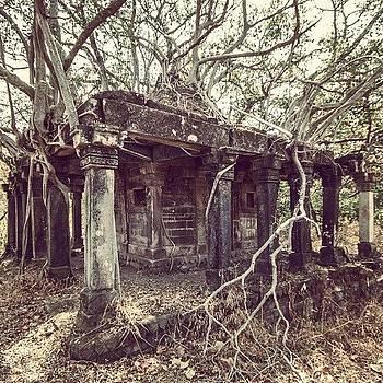 Temple Ruins by Hitendra SINKAR