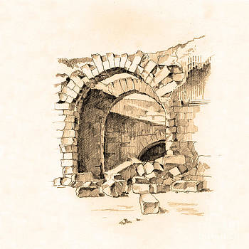 Ruins of Khorran. Turkey by Viacheslav Rogin