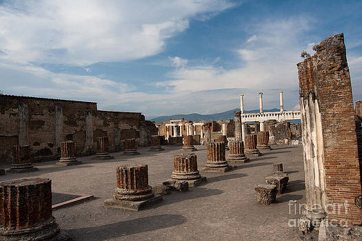 Ruins of Pompeii II by Amy Bynum