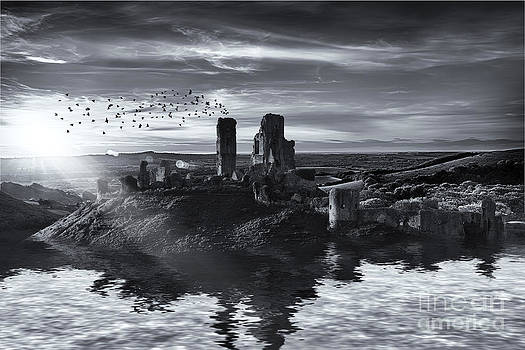 Simon Bratt Photography LRPS - Ruins on the water landscape