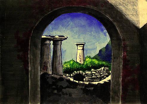 Ruins by Salman Ravish