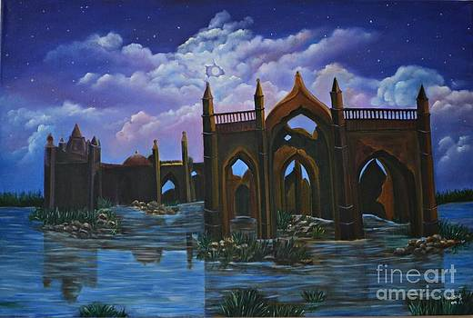 Ruins by Usha Rai