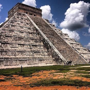 Ruins. #wonders #beautiful #mexico #sky by J Amadei