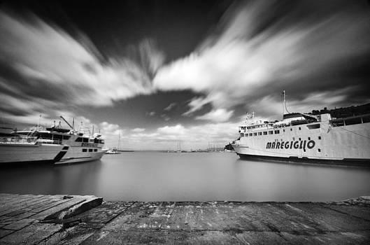 Runaway ferryboat by Tommaso Di Donato