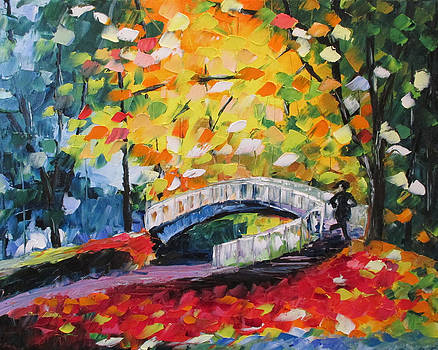 Runner at the Bridge by Emily McLemore