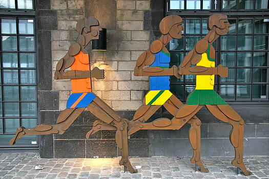 Runners by Xanat Flores