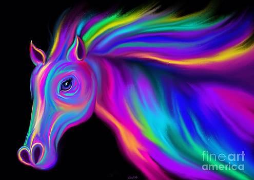 Nick Gustafson - Running Rainbow Stallion2