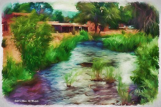 Running Water Through The Pueblo by Michelle Gross