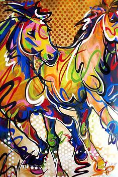 Running Wild No. 2 by Lelia DeMello