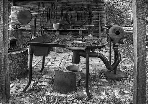 Lynn Palmer - Rural Farm Blacksmith Shed