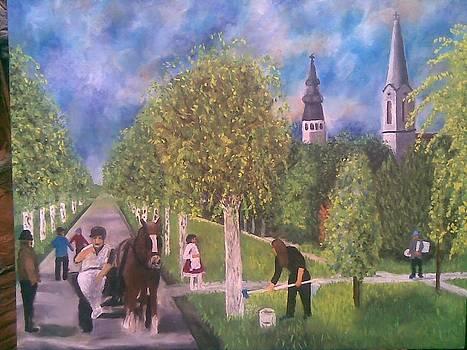 Rural Idyll by Lazar Caran