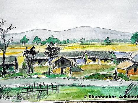 Rural Indian Serenity by Shubhankar Adhikari