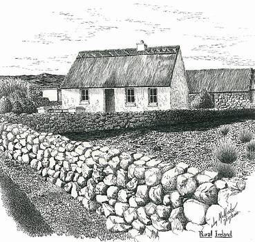 Rural Irish Cottage by Jimmy McAlister