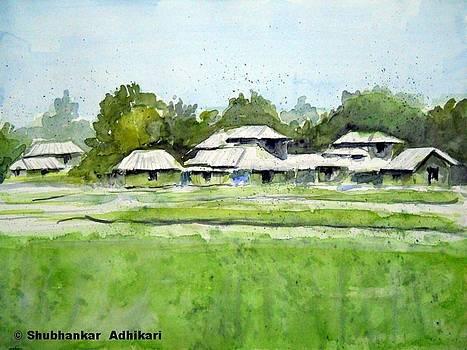 Rural Landscape by Shubhankar Adhikari