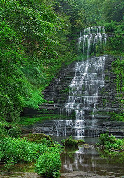 Rural Waterfall by Perry Harmon