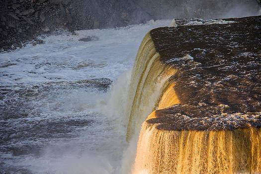 Rushing water by Darren Langlois