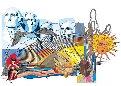 Teo Spiller - Rushmore BIkini Pyramid