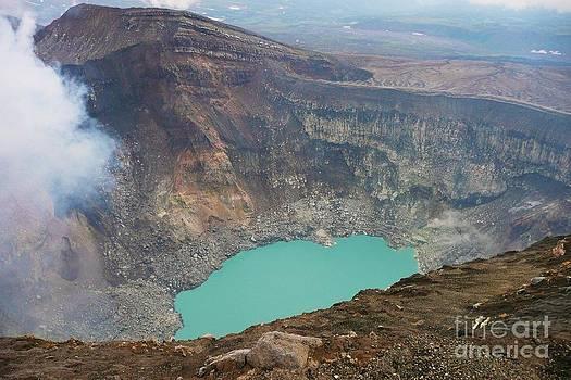 Russia Kamchatka - Goreli crater by Bernard MICHEL
