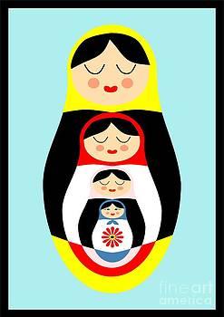 Russian doll matryoshka by Patruschka Hetterschij