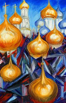 Russian Domes by Helen Kagan