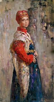 Russian traditional girl by Kartashov Andrey