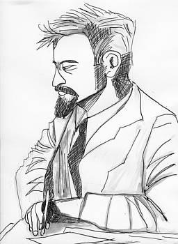 Russians Leon Trotsky by Allen Forrest