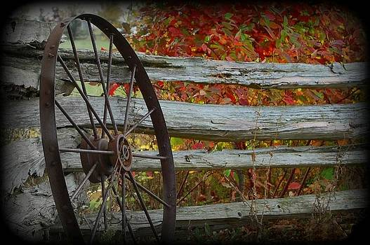 Rust on the Wheel by Amy Schauland