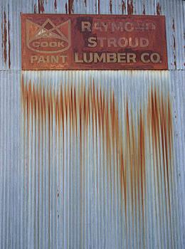 Nina Fosdick - Rust Paint Steel Lumber