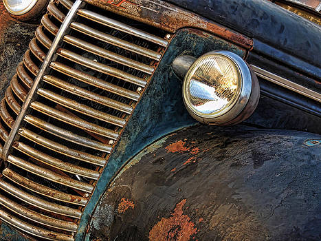 Rusted Antique Auto by Lori Hutchison