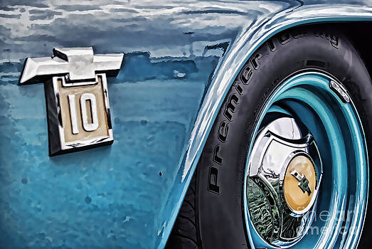 Rachel Barrett - Rusted Blue Chevy