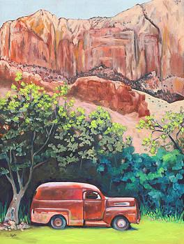 Rusted in Springdale by Eve  Wheeler