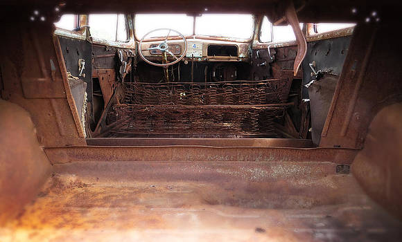 Ray Van Gundy - Rusted Interior of Classic Car
