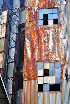 Rusted Windows by Kelly E Schultz