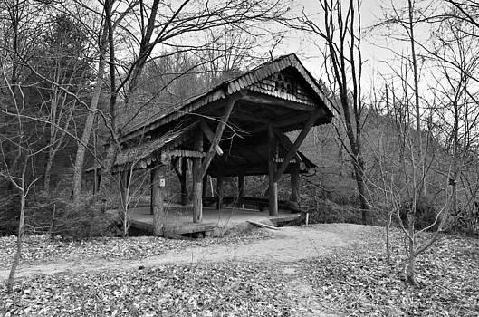 Rustic Covered Bridge by Susan Leggett