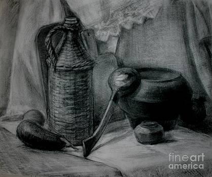Rustic Dinner by Victoria  Tekhtilova