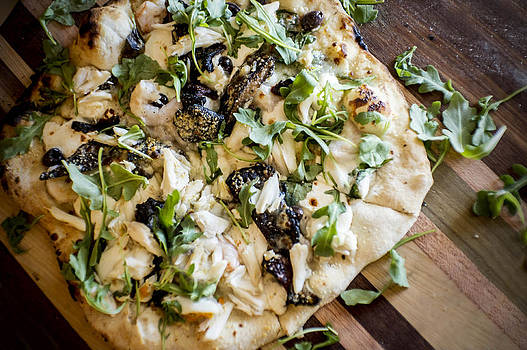 Rustic Flatbread by Alicia Morales