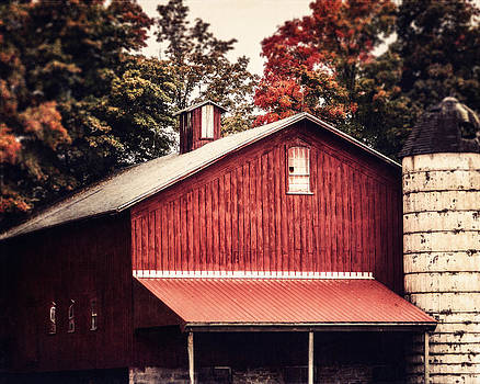 Lisa Russo - Rustic Red Barn in Pennsylvania