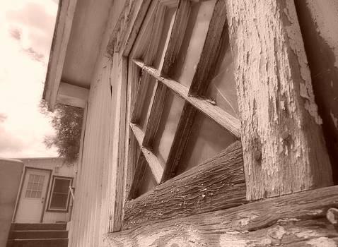 Rustic Windowsill by Kortney  Jaworski
